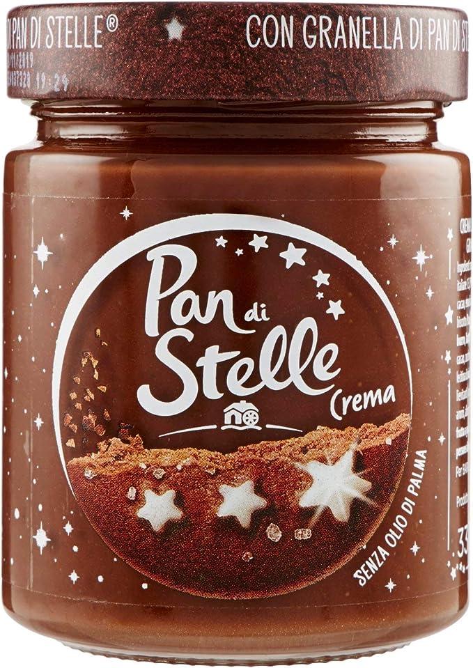 Pan Di Stelle Crema Spalmabile Di Cacao Nocciole E Granella Di Biscotto 330 Gr Amazon It Salute E Cura Della Persona