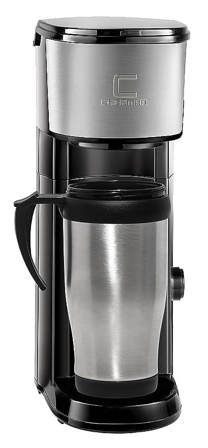 Cafetera Chefman K-Cup VersaBrew Brewer con taza de viaje incluida ...