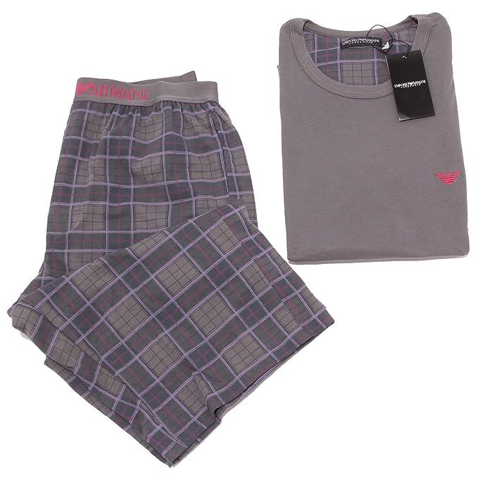 8567S pigiama uomo EMPORIO ARMANI UNDERWEAR pyjamas t-shirt BERMUDA men [S]