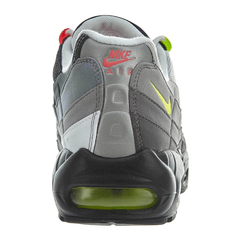 9fe45e39c340 Nike Air Max 95  Greedy  OG QS 2015 - Black Safety Orange Volt Trainer   Amazon.co.uk  Shoes   Bags