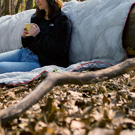 Amazon.com: winterial Down Camping Manta | 1 – 2 persona ...
