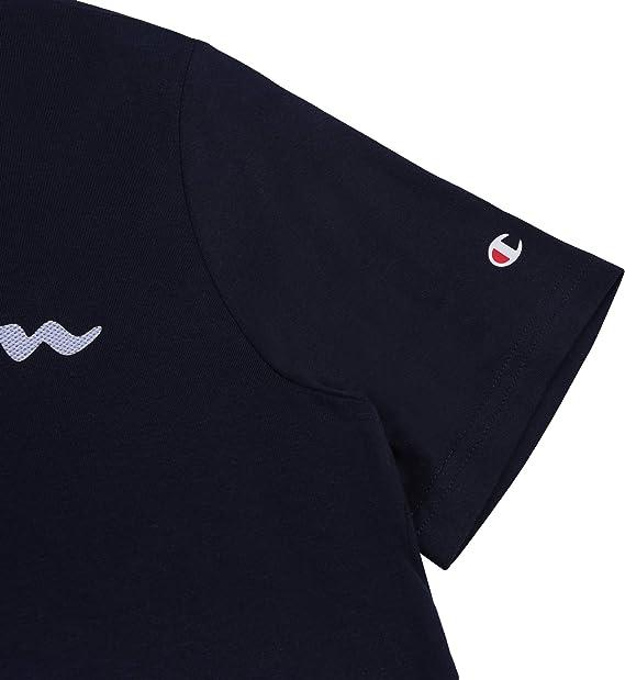 Champion Crewneck 2er Pack T-shirts Col Rond Manches Courtes Shirt De Sport 213182-ww001
