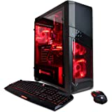 CYBERPOWERPC Gamer Xtreme GXi10180A Desktop Gaming PC (Intel i7-7700 3.6GHz, NVIDIA GTX 1060 3GB, 8GB DDR4 RAM, 1TB 7200RPM HDD, Win 10 Home), Black