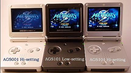 Amazon.com: Game Boy Advance SP Pearl Blue [Game Boy Advance ...