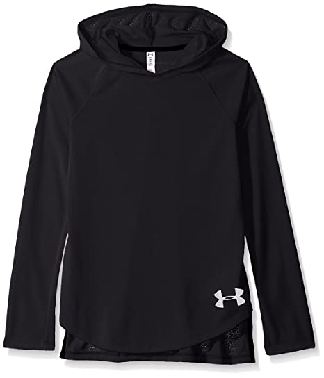 dde3a94f60 Under Armour Armor Girls' Threadborne Long Sleeve Hoodie