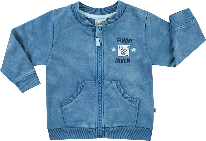 Jacky Baby-Jungen Sweatjacke Funny Diver Jacke