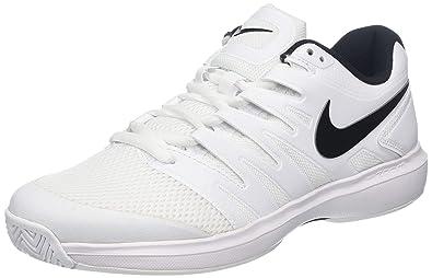 sale retailer 6c686 2c479 Nike Men s Air Zoom Prestige Hc Low-Top Sneakers, (White Black 001