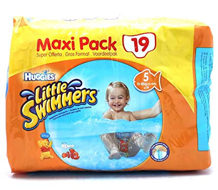 Huggies Little Swimmers Talla 5 (11 – 18 kg) – 19 Pañales