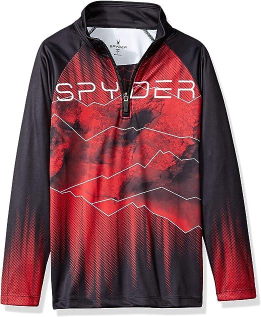 Spyder Boys Limitless Challenger Half Zip T-Neck