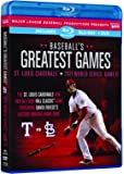 Baseball's Greatest Games: 2011 World Series Game [Blu-ray] [Import]
