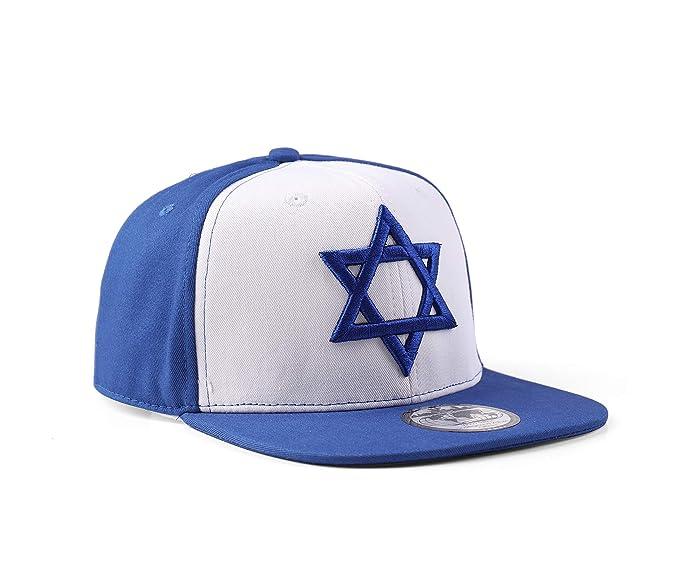 Underground Kulture Israel Gorra de béisbol Azul del Snapback  Amazon.es   Ropa y accesorios afc388c7f84