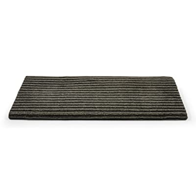 "Camco 42956 RV Step Rug ( Premium Wrap Around Double Ribbed , 100% Polyester (18"" x 23"") - Gray): Automotive"