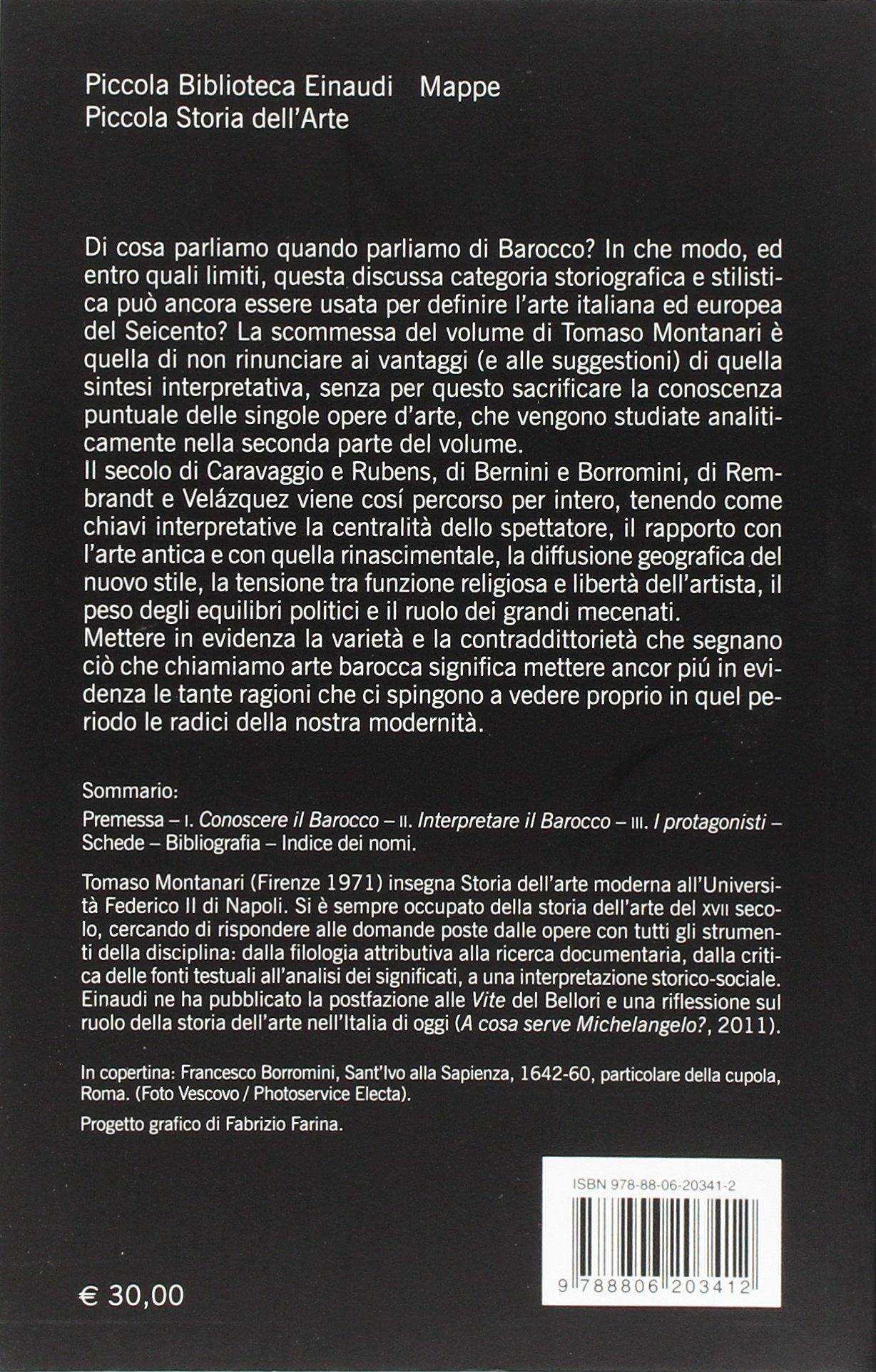 montanari il barocco  : Il barocco - Tomaso Montanari - Libri