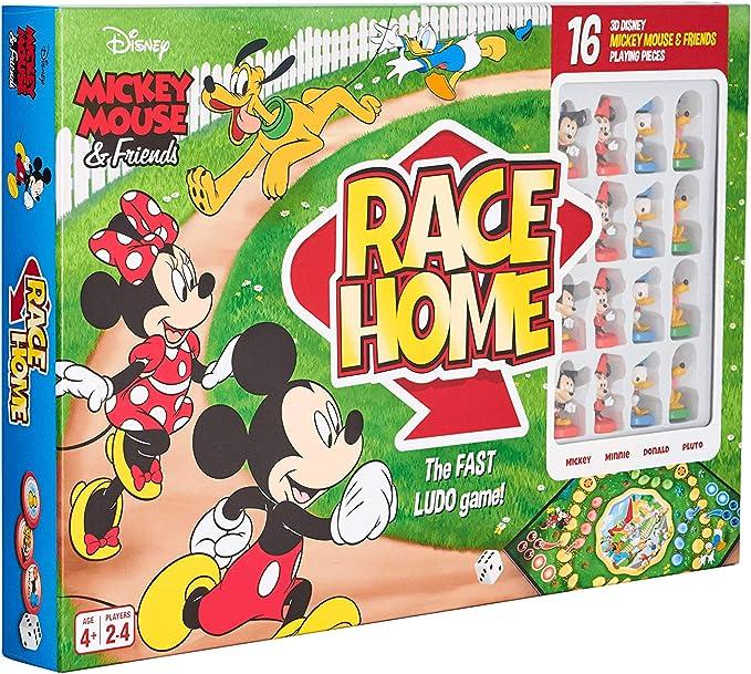 Cartamundi Mickey & Friends - Juego de Mesa de Carreras: Amazon.es: Juguetes y juegos