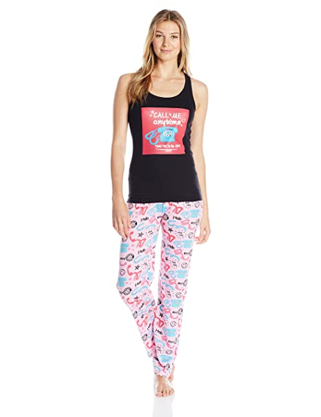 Carnival Women s Tank Top and Long Pant Pajama Set at Amazon Women s  Clothing store  b046e5699