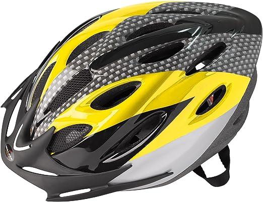 Walser radfahr Casco Sprinter nxtg Bicicleta Casco, Amarillo, 58 – 61 cm: Amazon.es: Deportes y aire libre