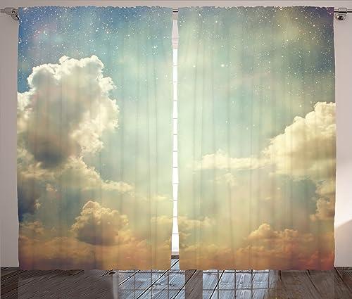 Ambesonne Vintage Curtain