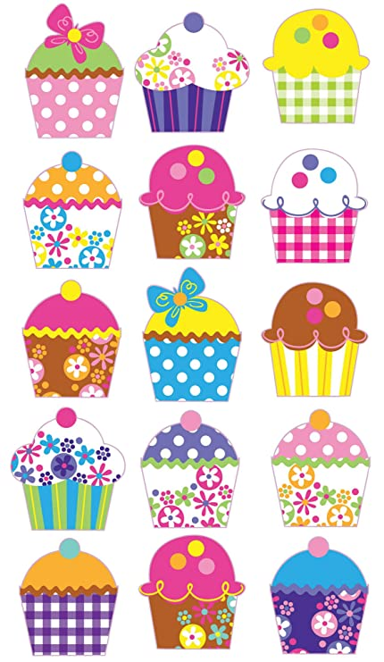 Sticko electric cupcakes stickers