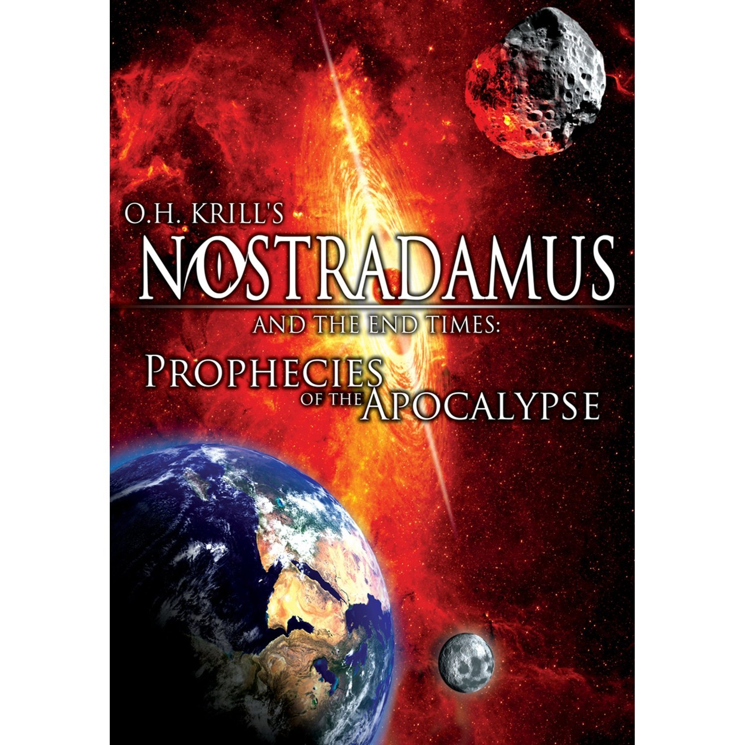 DVD : James Earnshaw - Nostradamus & End Times: Prophecies Of Apocalypse (Full Frame)