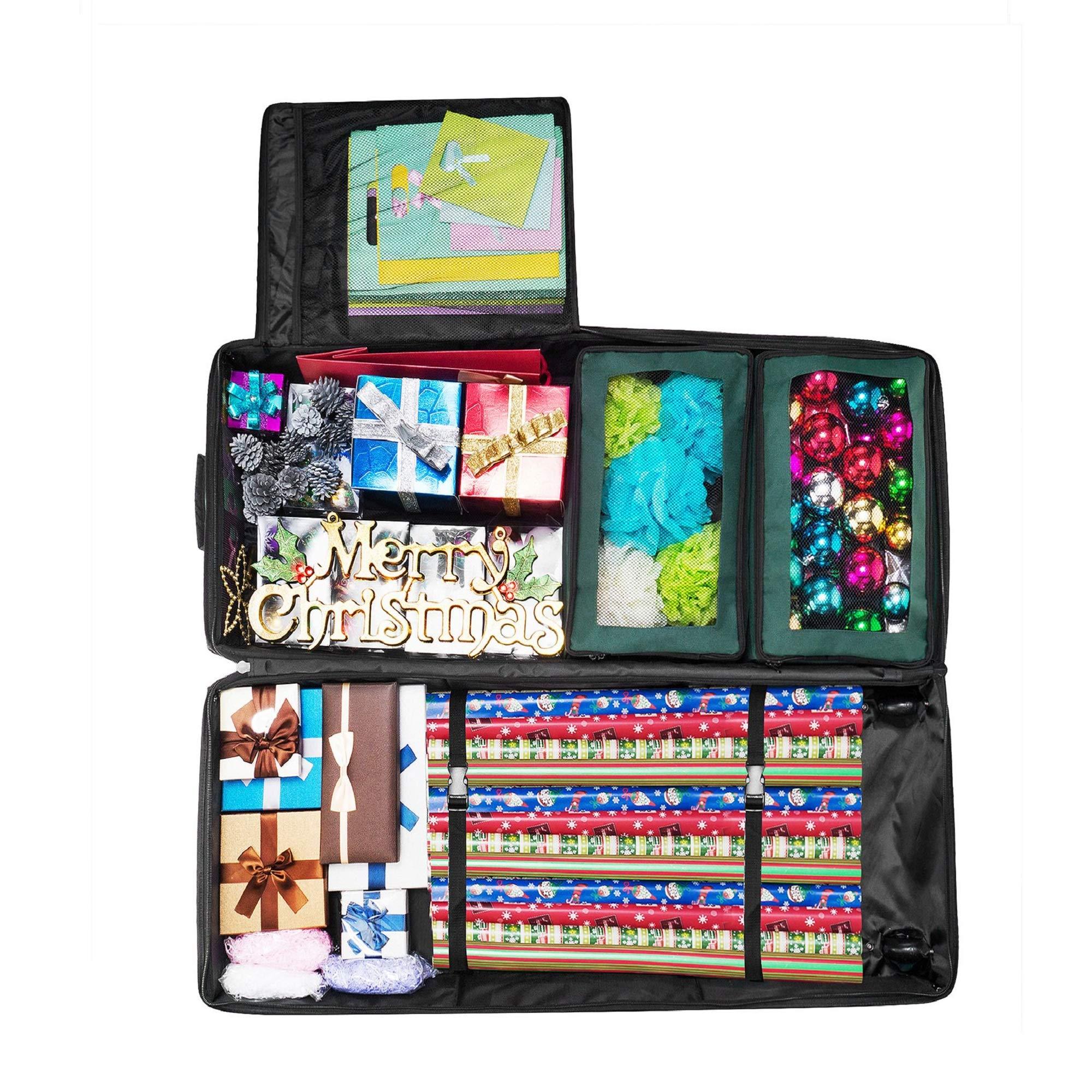 Elf Stor 1037 Premium Premier Gift Wrap Storage Bag Holds