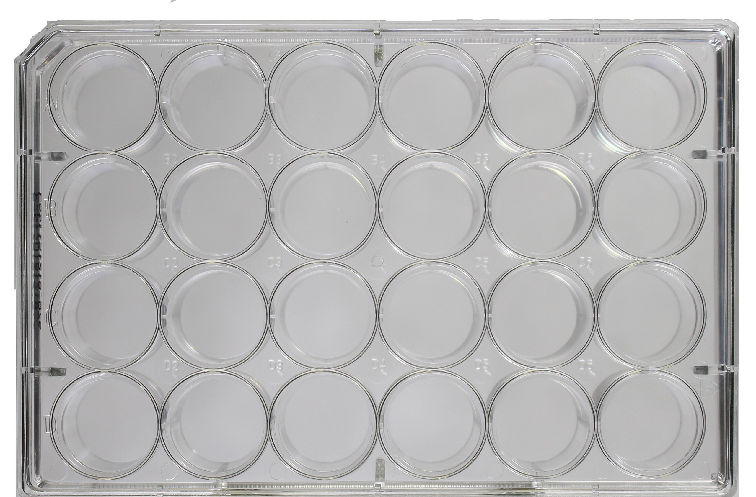 24 Well Cell and Tissue Culture Plates, Non Treated, Sterile, Case of 50