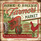Farmer's Market 2020 12 x 12 Inch Monthly Square