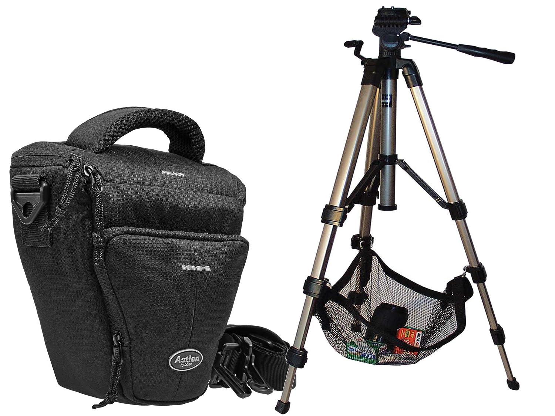 Miami M Set with Hercules Photo Tripod for Canon EOS 1300d 1200d 760d 750d 700d 80d Camera Bag for Nikon D7200/D5500/D5300/D3300/D3200