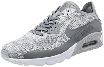 the latest eec26 191dc Nike Chaussures Air Max 90 Ultra 2.0 Flyknit, Pure PlatinumCool Grey-White