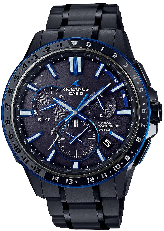 [カシオ]CASIO 腕時計 オシアナス GPSハイブリッド電波ソーラー OCW-G1200B-1AJF メンズ B01NCYEMSC