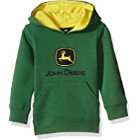 John Deere Baby-Boys JFJ056GTA Fleece Pullover Hoody Hooded Sweatshirt