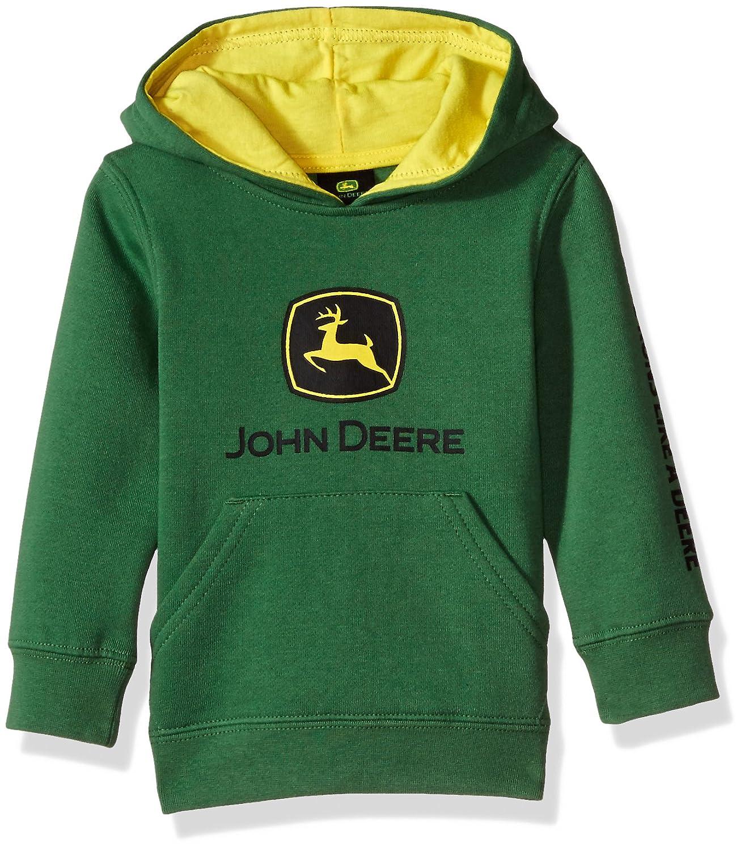 John Deere Baby-Boys Baby Fleece Pullover Hoody JFJ056GTA