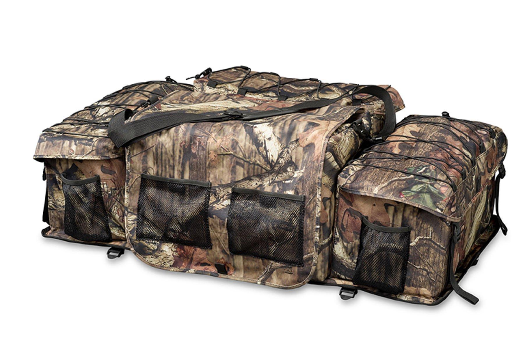 Raider ATV Rack Bag REAR Storage Gear Bag Deluxe Mossy Oak Infinity Camouflage