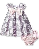 Bonnie Baby Girls Jacquard Dress