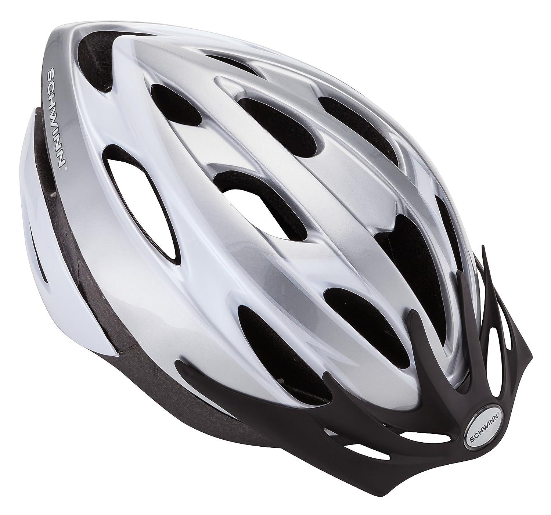 Schwinn SW75713-2 Thrasher Adult Helmet with rear tail light.