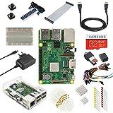 V-Kits Kit de débutant ultime de Raspberry Pi 3 Modèle B+ (Plus) – Edition Plug EU