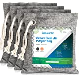 Activated Charcoal Air Purifying Bag - Nature Fresh Bamboo Air Purifier Bags, Odor Eliminators For Home, Closet Odor…