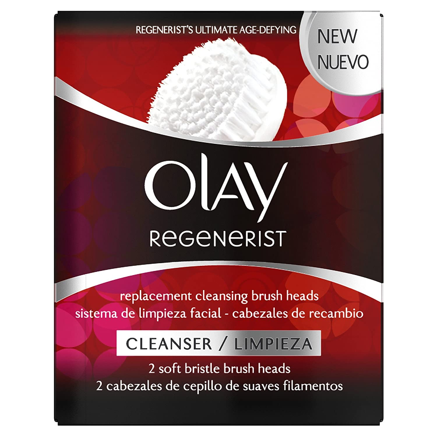 Olay Regenerist Replacement Cleansing Brush Heads, 150 g: Beauty