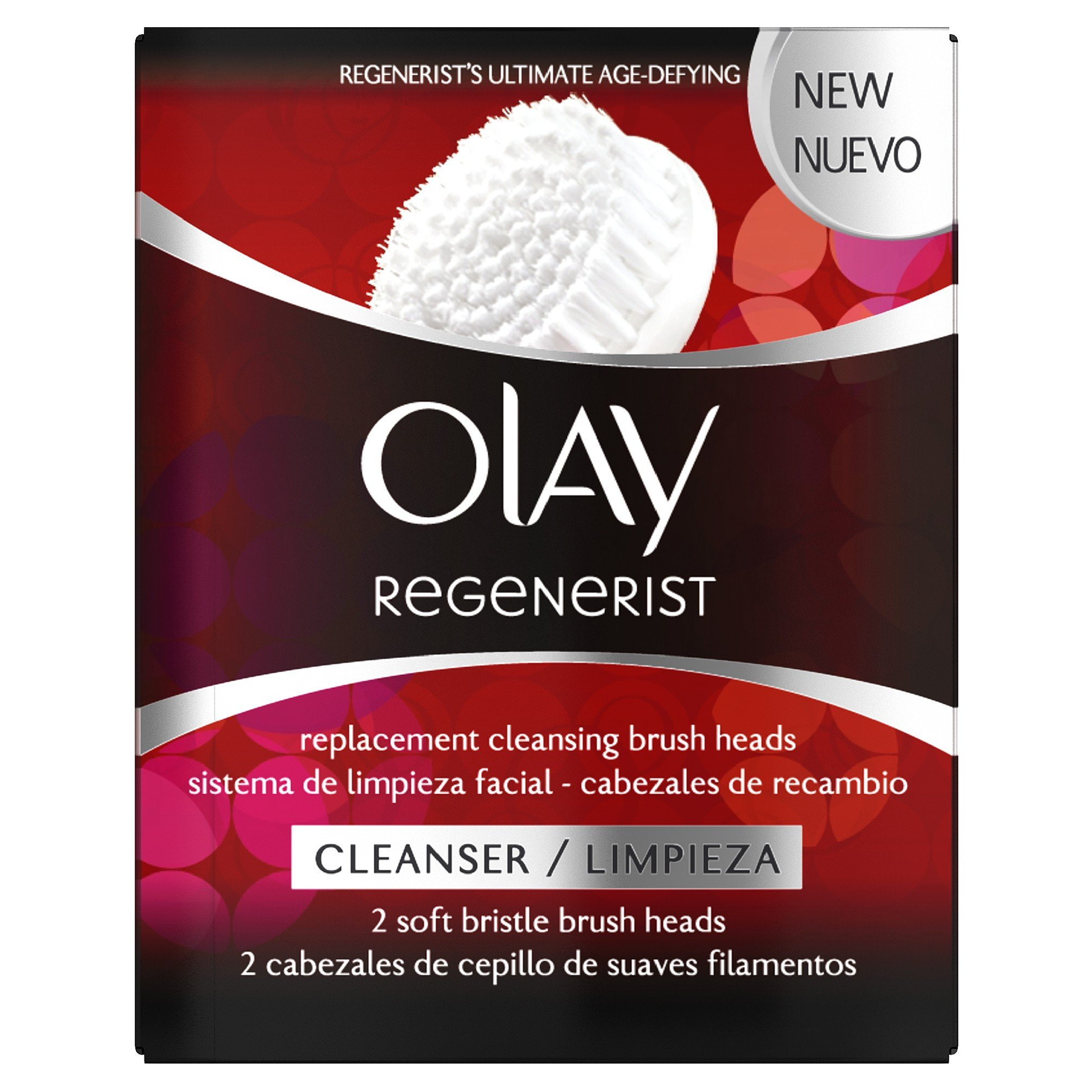 Amazon.com: Olay Regenerist Replacement Cleansing Brush Heads, 150 g: Beauty