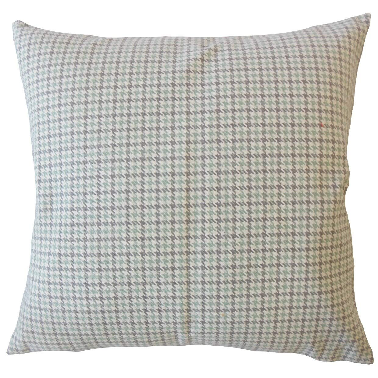 Amazon.com: The Pillow Collection Fallyn Houndstooth Down ...