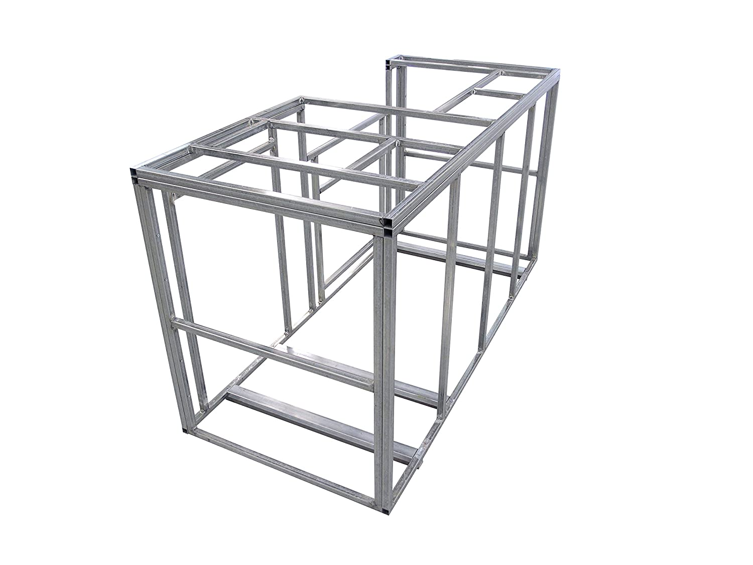 Amazon.com : Cal Flame 6\' Outdoor Kitchen Island Frame Kit : Garden ...