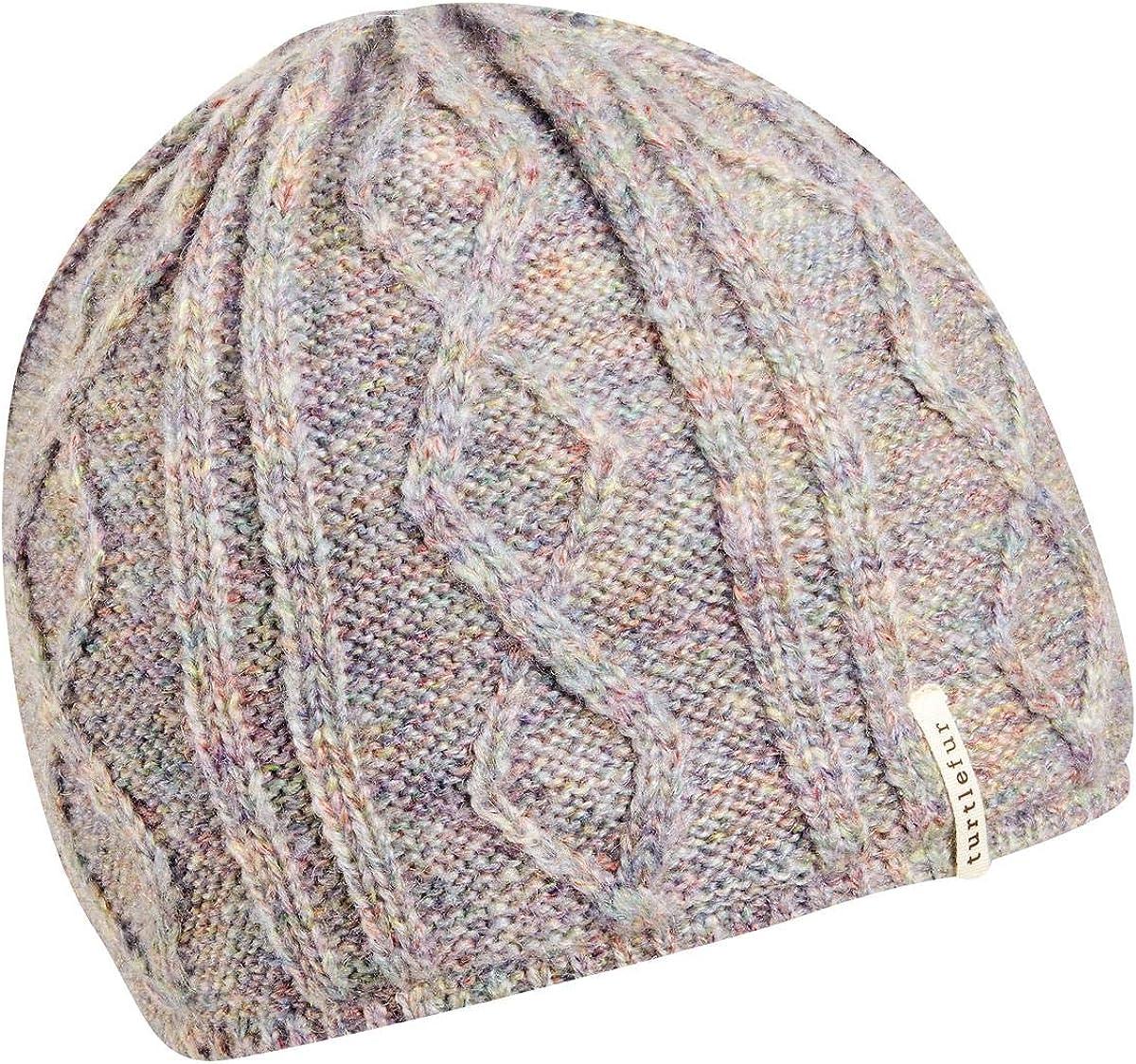 Turtle Fur Womens Monica Plush Fleece Lined Knit Beanie