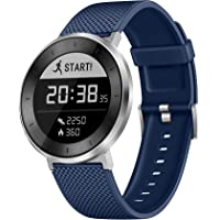 Smart Fitness Watch Huawei Fit (Moonlight Silver With Blue Sport Band, Large) with Continuous Heart Rate Monitor