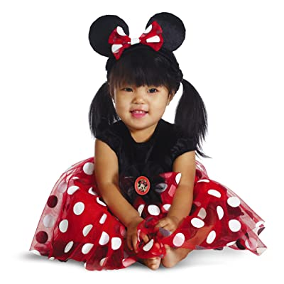 Disguise My First Disney Red Minnie Costume, Black/Red/White, 12-18 Months: Clothing