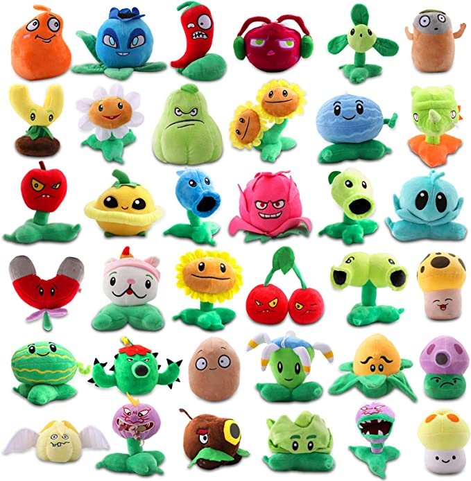 Plants vs Zombies toys shooters PvZ plants  **choose your character **