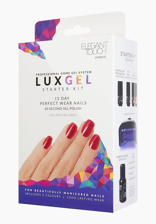 Elegant Touch Lux Gel Starter kit: Amazon.co.uk: Beauty