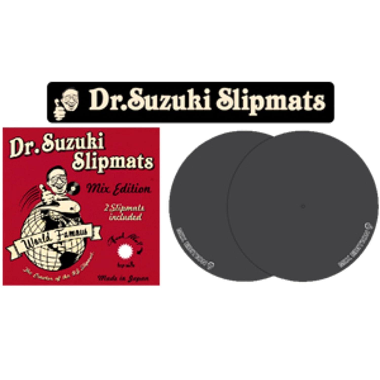 Dr.Suzuki Mix Edition Slipmats black (par): Amazon.es ...