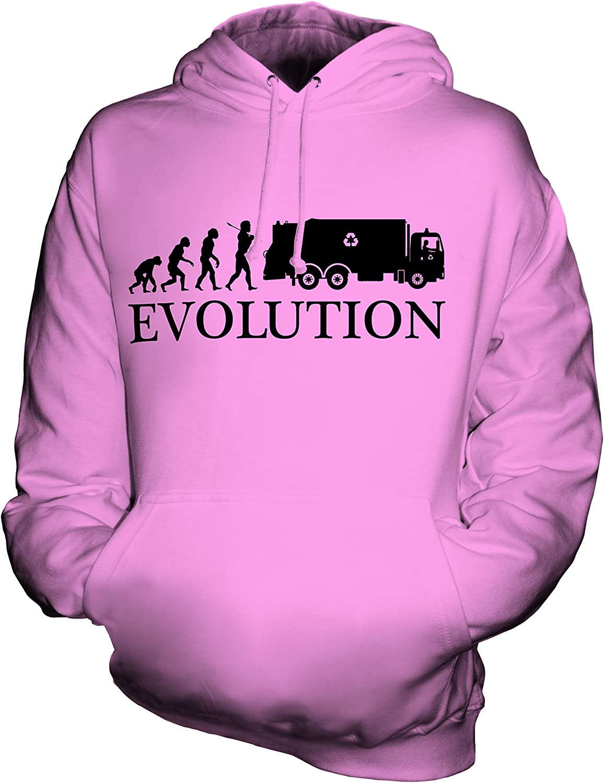 Candymix Autocompattatore Evoluzione Umana /Évolution Unisexe Sweat Pull /à Capuche Homme Femme