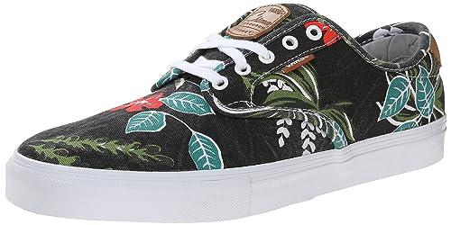94e227794d Vans Men s Chima Ferguson Pro Aloha Black Ankle-High Fabric Fashion Sneaker  - 13M