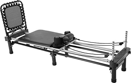 side facing aeropilates premier pilates reformer