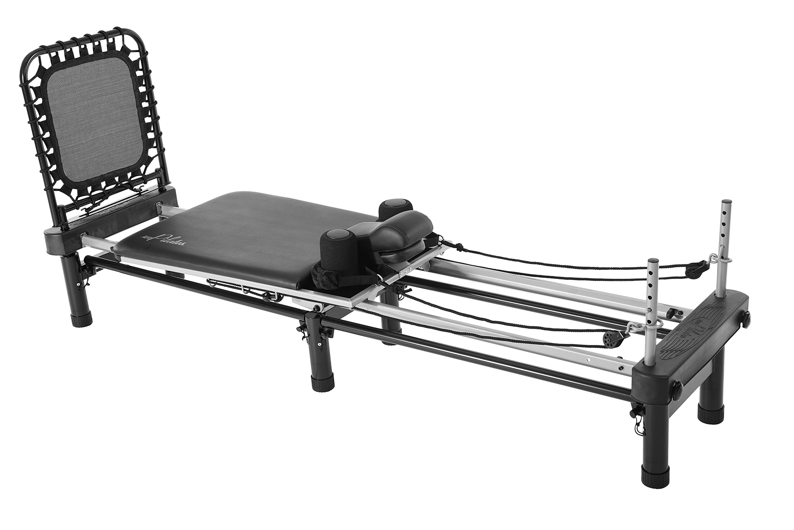 Stamina AeroPilates 700 Premier Reformer with Stand, Cardio Rebounder, Neck Pillow and DVDs by Stamina